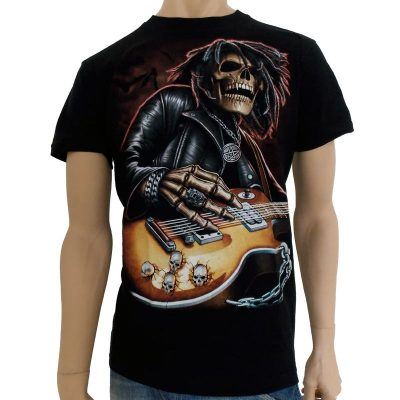 T-shirt med Rock motiv