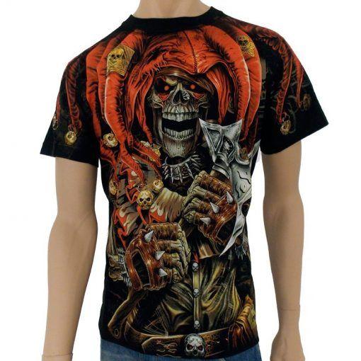 Halloween T-shirt med en clown | Halloween T-shirts | Halloween Tröja